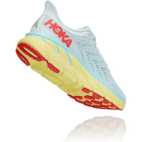 Hoka One One Clifton 7 Hardloopschoenen Dames, morning mist/hot coral
